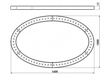 Светильник бестеневой «Элипс НЛО-1600″ (Без зеркала) — для стоматологии Фото