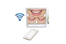 Камера интраоральная + монитор + держатель монитора с Wi-Fi HM368A (для стоматологической установки) фотография